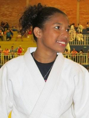 Samila Coelho judô Amapá Olimpíadas Escolares (Foto: Ana Carolina Fontes)
