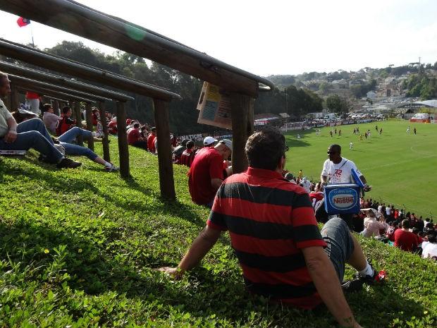 Atlético-PR (Foto: Sérgio Tavares Filho/G1)