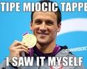 """Memes do UFC 203: Ryan Lochte """"confirma"""" reclamação de """"Overeem Bolt"""""""