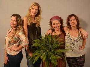 O quarteto que protagoniza 'Muita calma nessa hora 2' (Foto: Divulgação / Fernanda Guinle)