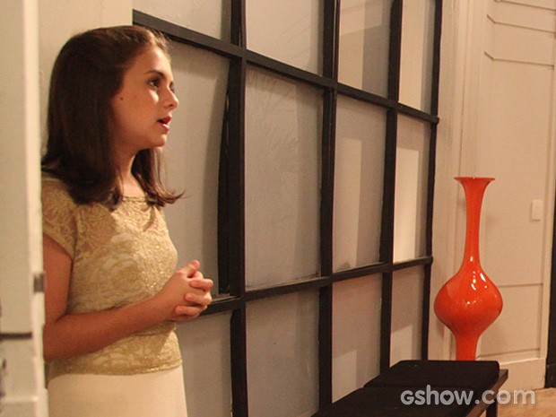 Paulinha questiona o tio (Foto: Carol Caminha/TV Globo)