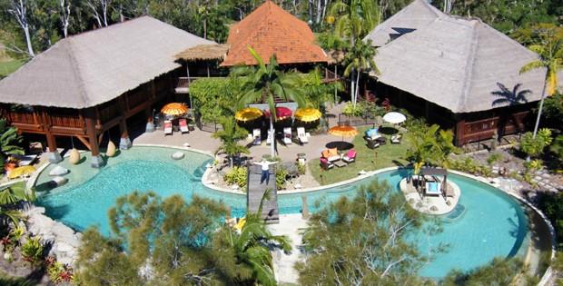 Resort eleito por Justin Bieber para relaxar na Austrália (Foto: Reprodução)