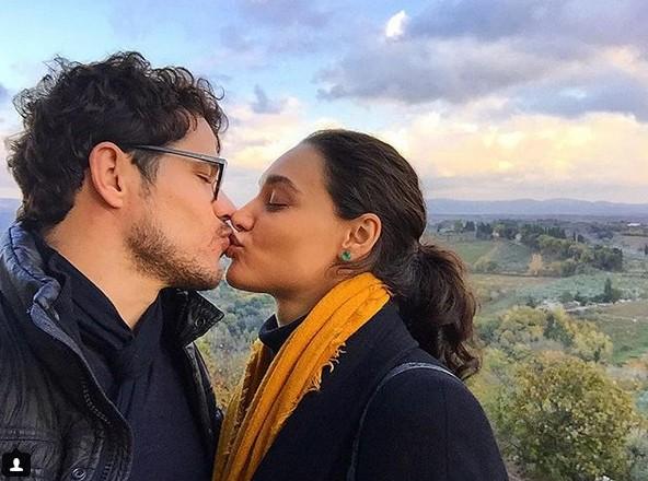 José Loreto e Débora Nascimento curtem a Itália (Foto: Reprodução/Instagram)
