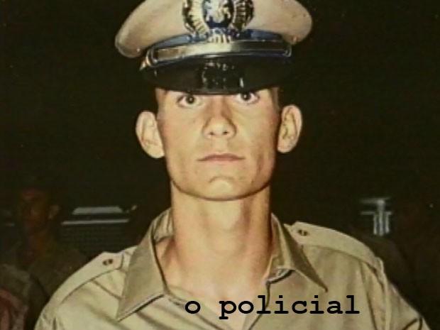 O policial Chereze ET de Varginha (Foto: Arquivo EPTV)