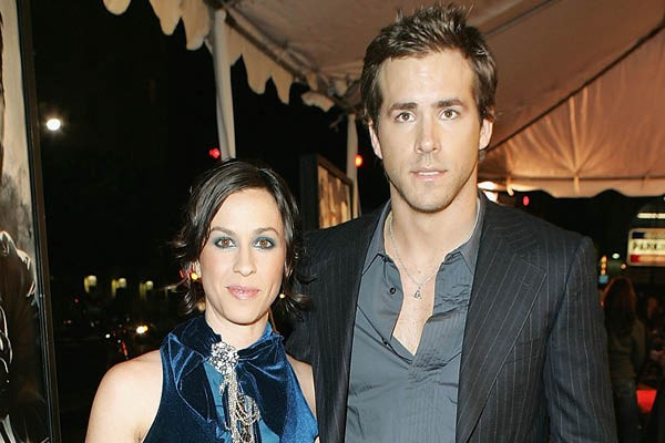 Alanis Morissette e Ryan Reynolds (Foto: Getty Images)