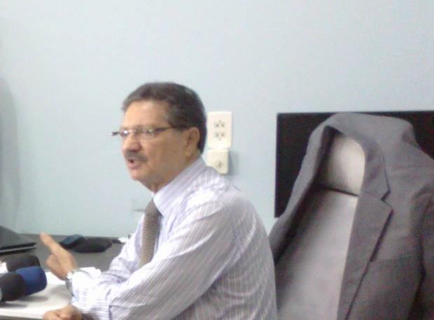 O prefeito de Altamira, Domingos Juvenil (Foto: Glaydson Castro / TV Liberal)