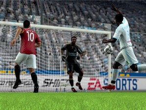 FIFA 2010, produzido pela EA Sports.