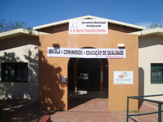 Escola de Isadora Faber passa por reformas (Foto: Paula Cunha/Divulgação)