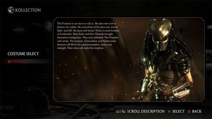Predador é a próxima atração de Mortal Kombat X (Foto: Divulgação)