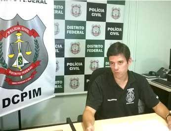 Delegado Paulo Henrique Almeida da DCPIM (Foto: Luiza Facchina/G1)