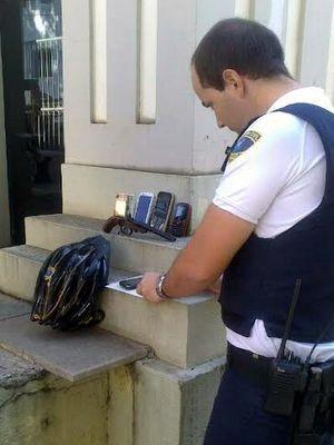 Adolescentes foram apreendidos por GM em Piracicaba, após roubos (Foto: Guarda Municipal/Divulgação)