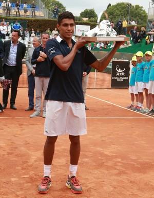 Thiago Monteiro campeão do challenger de Aix-en-Provence (Foto: Divulgação / Facebook)