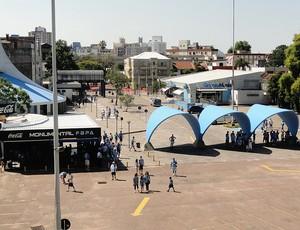 estádio olímpico grêmio atlético-go (Foto: Alexandre Alliatti / Globoesporte.com)