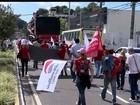 Protesto de sindicatos para trânsito das principais vias da Grande Vitória