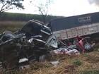 Acidente com dez veículos deixa ao menos 5 feridos na BR-060, em Goiás