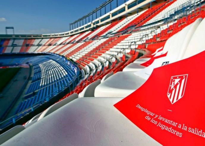 BLOG: Torcida do Atlético prepara mosaico gigante para apoiar time contra o Bayern