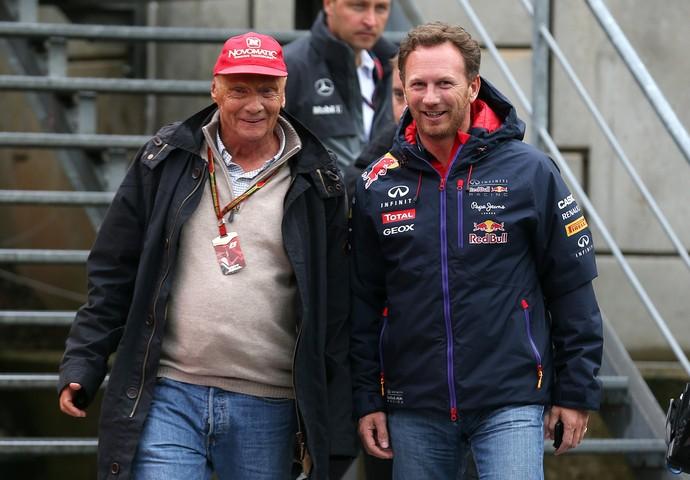 Niki Lauda aposta que a RBR de Christian Horner estará mais competitiva em 2015 (Foto: Getty Images)