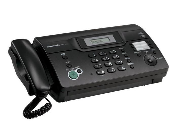 Enviar um arquivo e ele sair do outro lado? O fax parecia magica na época (Foto: Divulgação/ Panasonic)