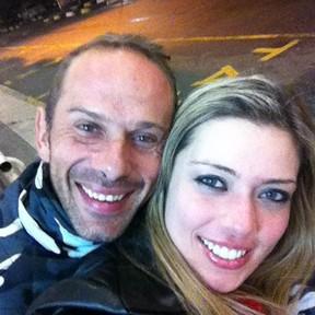 Rafael Ilha e Aline Kezh (Foto: Reprodução/Facebook)