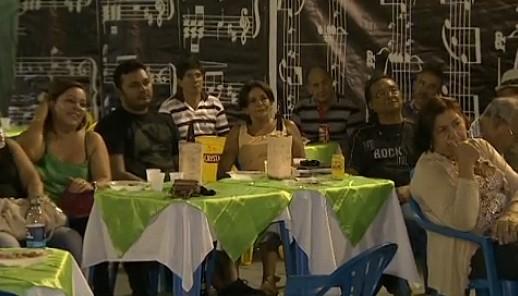 Público prestigia a poesia amazonense (Foto: Bom dia Amazônia)