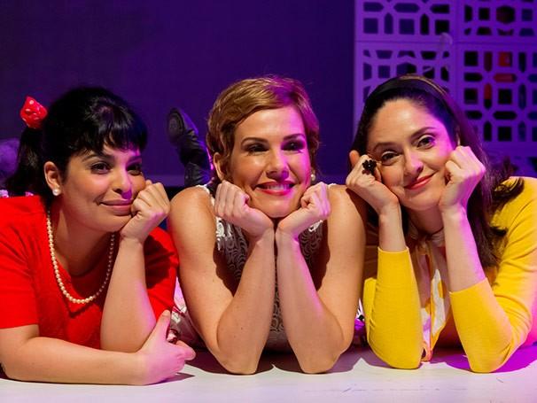 Daniela Fontan, Andrea Veiga e Bianca Byington (Foto: Silvana Marques)