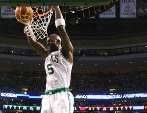 Miami Heat  x  Boston Celtics kevin garnett (Foto: Getty Images)