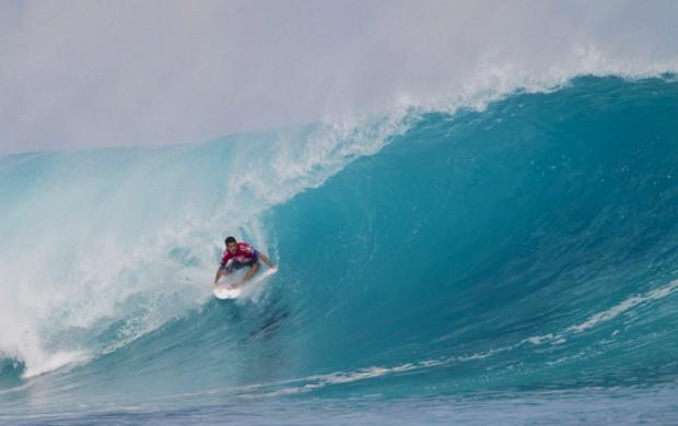 surfe Adriano Mineirinho no Mundial das Ilhas Fiji primeira fase (Foto: Kirstin Scholtz / ASP)