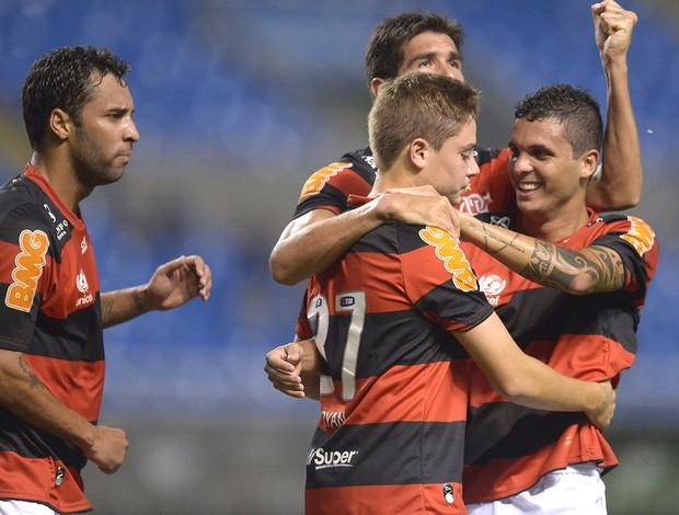 Adryan, Flamengo x Grêmio (Foto: Alexandre Loureiro / Vipcomm)