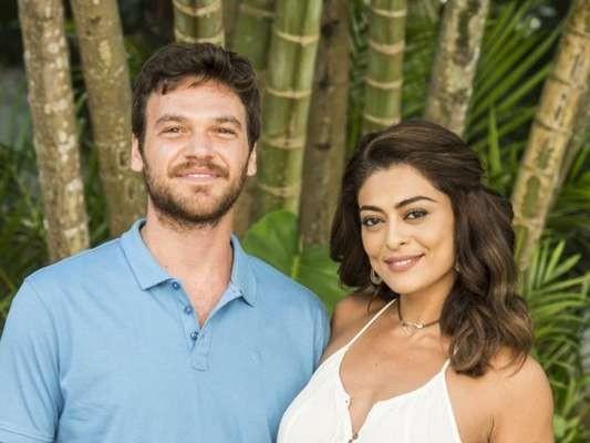 Emílio Dantas será o par de Juliana na novela:  (Foto: TV Globo/ Estevam Avellar)