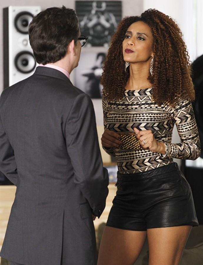 Michele fica com raiva de Brau e toma decisão inusitada (Foto: Caiuá Franco / TV Globo)