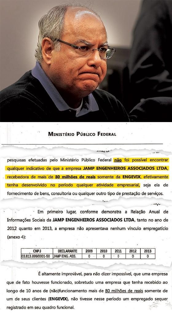 Renato Duque, o homem do PT na Petrobras  (Foto: Pedro Ladeira/Folhapress e reprodução )
