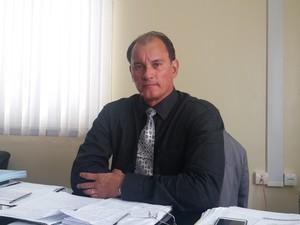 gastão calandrini, secretario, segurança pública, amapá, macapá (Foto: Jéssica Alves/G1)