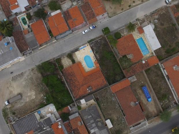 Imagens de drone permitem localizar possíveis focos do Aedes em São Caetano (Foto: Divuolgação/Ascom São Caetano)