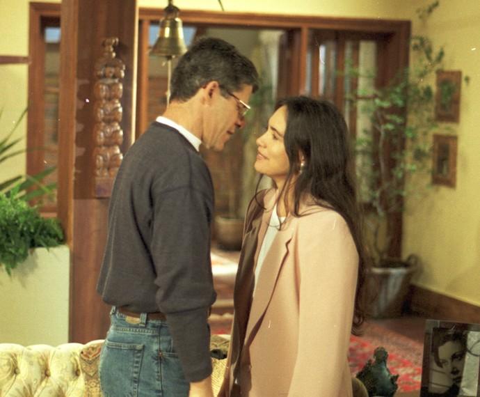 Carlos e Helena viveram uma verdadeira história de amor (Foto: Divulgação/TV Globo)