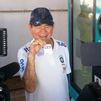 Coronel Nunes, vice-presidente da CBF (Foto: Duaine Rodrigues )