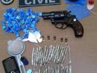Polícia apreende droga e arma em operação na Cidade do Povo