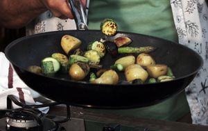 Espetinho de legumes: receita do Claude Troisgros