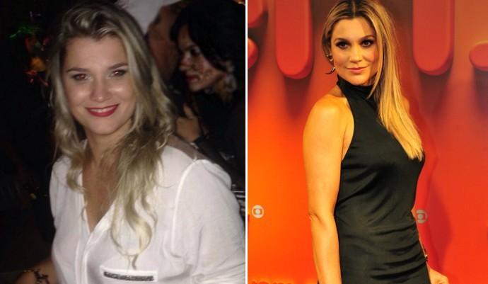 Kamila e Flávia Alessandra: parecem? (Foto: (Foto: Arquivo Pessoal e Alex Carvalho/TV Globo))