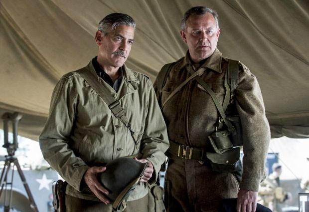 Cena de 'Caçadores de obras-primas', com George Clooney (Foto: Divulgação)
