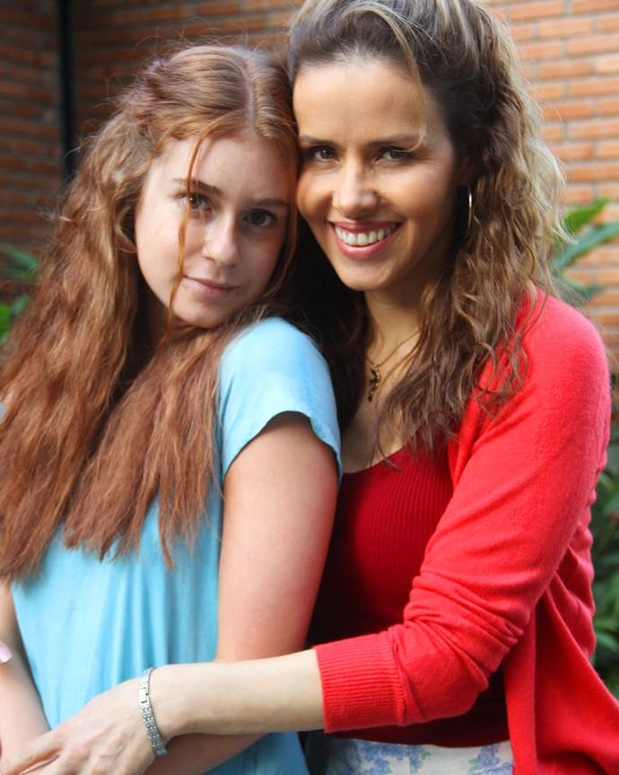 Na trama, Gilda esconde um grande segredo de sua filha, Eliza (Foto: Globo)