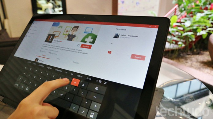 Dell Inspiron 15 7000' (Foto: Isabela Giantomaso/TechTudo)