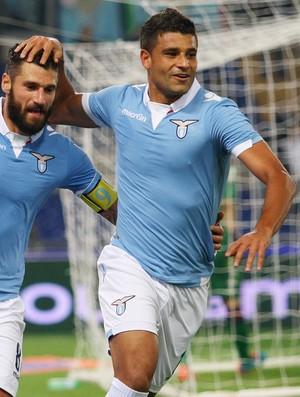 Honorato Ederson e Antonio Candreva gol Lazio (Foto: Getty Images)