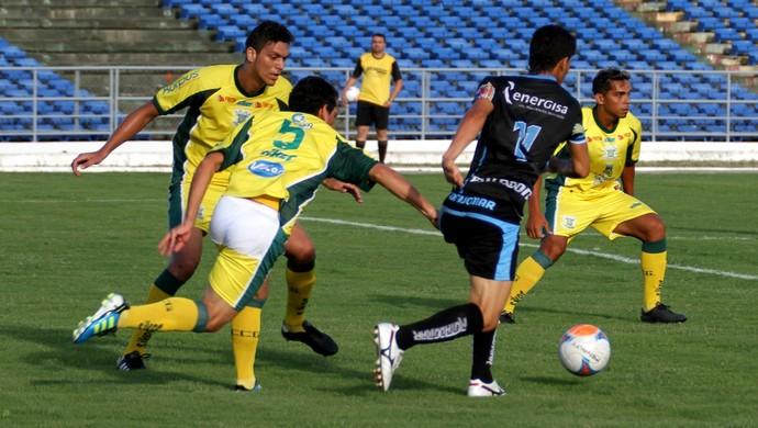 Sport Campina 0 x 9 CSP, no Estádio Amigão, pelo Campeonato Paraibano 2014 (Foto: Nelsina Vitorino / Jornal da Paraíba)