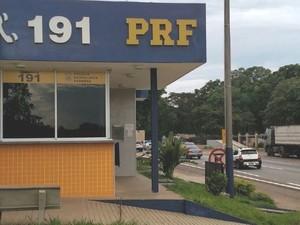 Policiais da PRF fazem paralisação parcial em Goiás, diz sindicato (Foto: Divulgação/PRF)