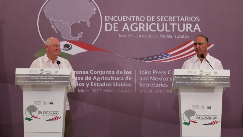 encontro-mexico-eua (Foto: Reuters)