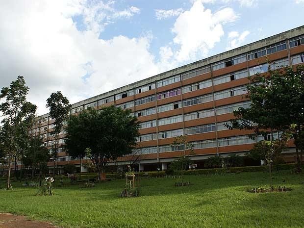 Entrequadra em Brasília (Foto: Vianey Bentes/TV Globo)