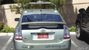 Veículo sem motorista é o 'carro do futuro', segundo uma autoridade em Nevada (Foto: Da BBC)