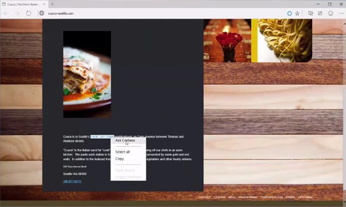 Assistente busca definições de palavras ou informações de locais sem abrir páginas novas (foto: Reprodução/Youtube)