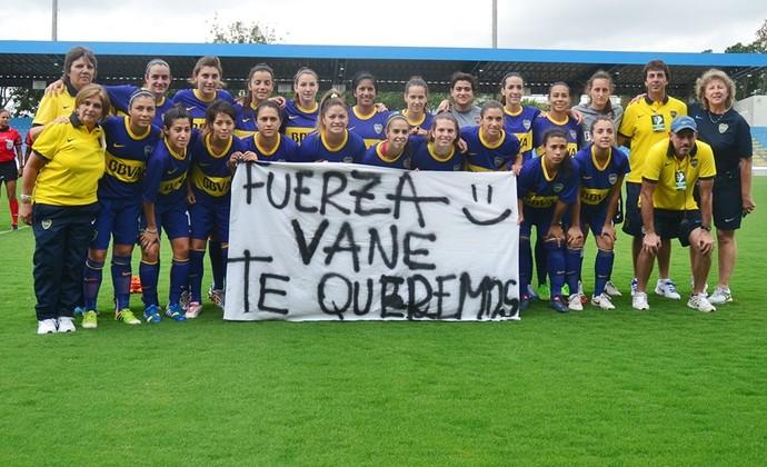 Boca Juniors Libertadores Feminina (Foto: Tião Martins/ PMSJC)