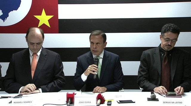 Atuais ministros da Educação e Cultura vão fazer parte do governo Doria